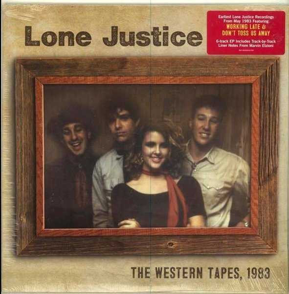 LONE JUSTICE The Western Tapes, 1983 VINYL SINGLE