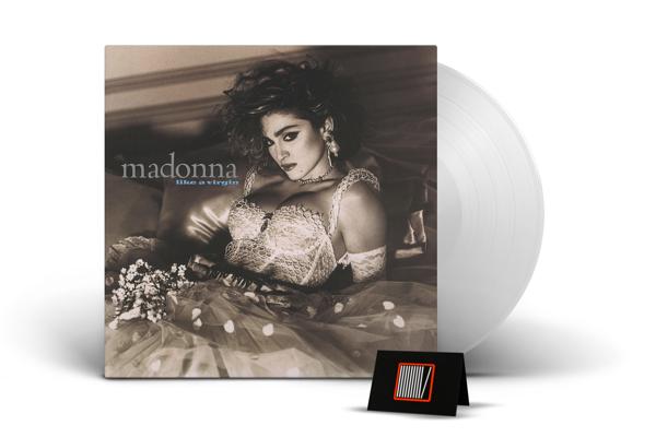 MADONNA Like A Virgin (CLEAR Vinyl Album) LP