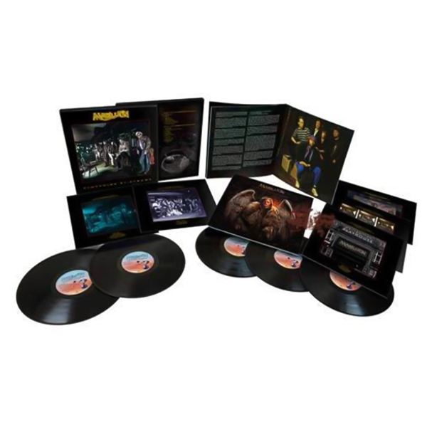 MARILLION Clutching At Straws (DELUXE) 5LP