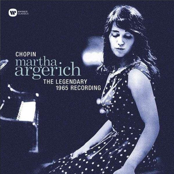 MARTHA ARGERICH Martha Argerich / Chopin:The Legendary 1965 Recording LP