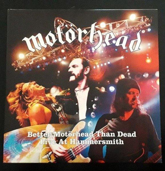 MOTORHEAD Better Motorhead Than Dead (LIVE At Hammersmith) 4LP
