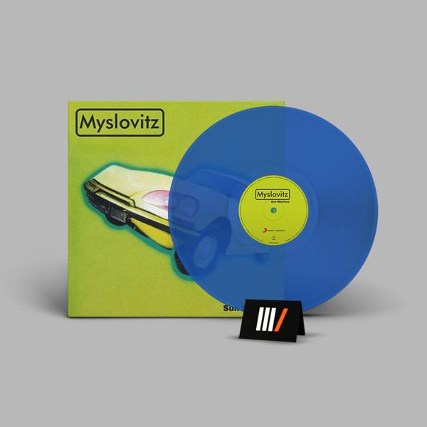 MYSLOVITZ Sun Machine LP BLUE VINYL