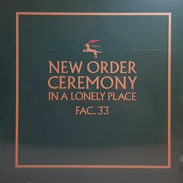 NEW ORDER Ceremony (VERSION 1) VINYL SINGLE