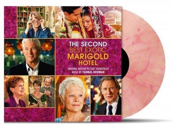 OST Second Best Exotic Marigold Hotel 2LP (Coloured Vinyl)
