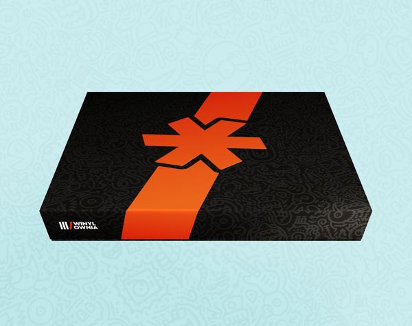 Opakowanie prezentowe / pudełko WINYLOWNIA