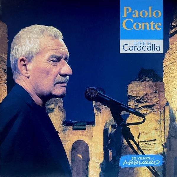PAOLO CONTE Live In Caracalla - 50 Years Of Azzurro (LIVE) 3LP