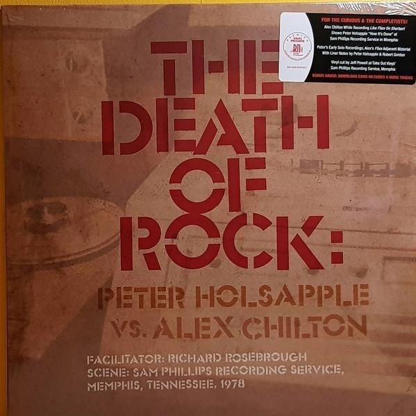 PETER HOLSAPPLE VS. ALEX CHILTON The Death Of Rock LP