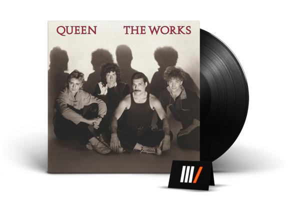 QUEEN The Works LTD LP