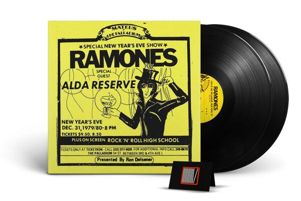 RAMONES, THE Live At The Palladium, New York, Ny (12/31/79) 2LP RSD