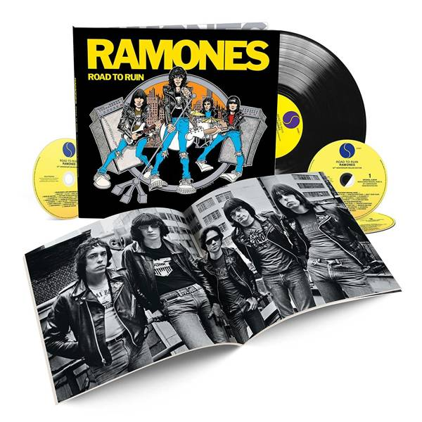 RAMONES, THE Road To Ruin (40TH Anniversary Deluxe Edition-1lp+3cd) LP