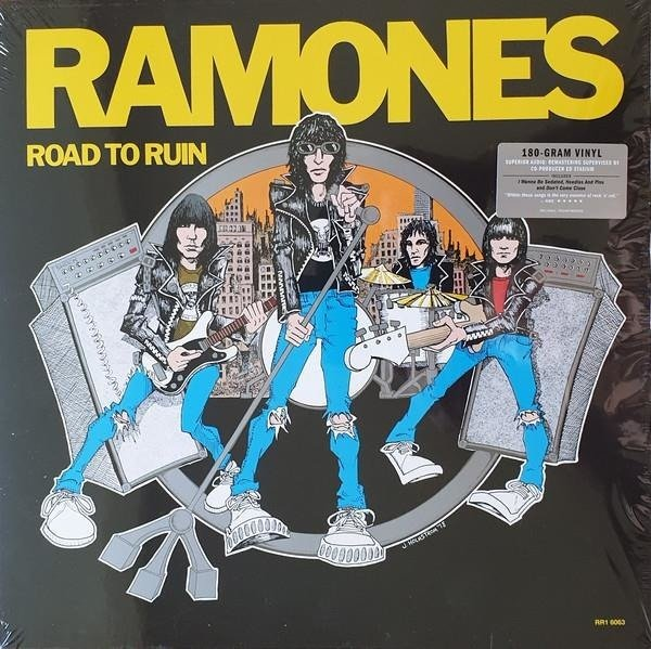 RAMONES, THE Road To Ruin (REMASTERED) LP