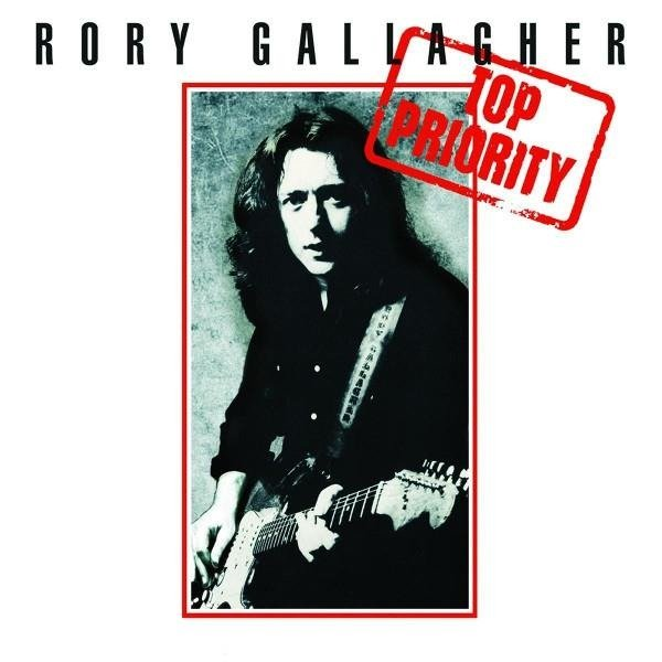 RORY GALLAGHER Top Priority LP