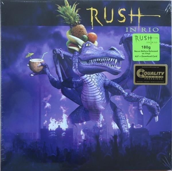 RUSH Live In Rio 4LP