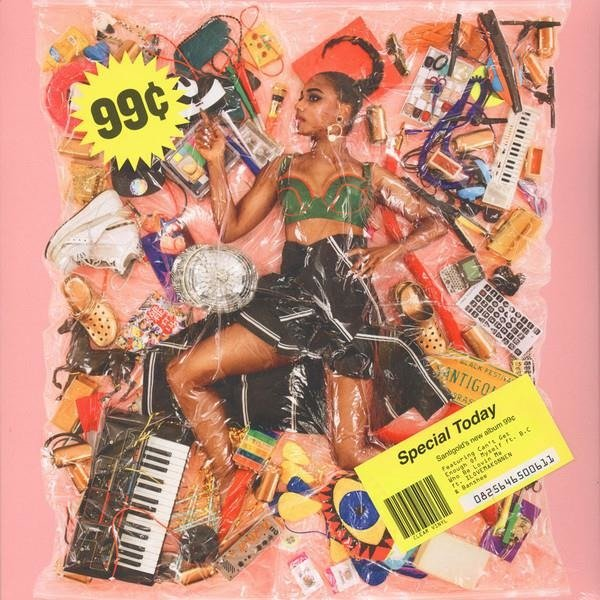 SANTIGOLD 99 Cents LP