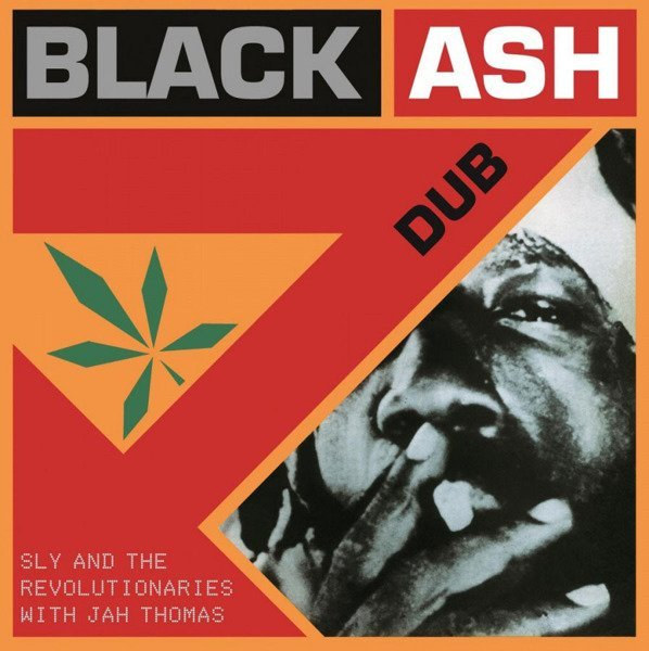 SLY & REVOLUTIONARIES Black Ash Dub LP (Orange Vinyl)