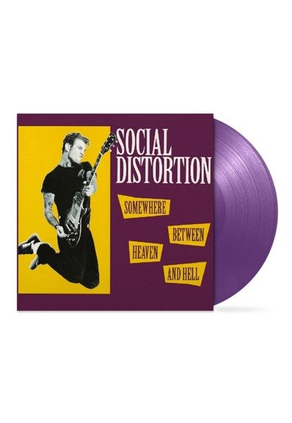 SOCIAL DISTORTION Somewhere Between Heaven and Hell LP PURPLE