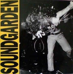 SOUNDGARDEN Louder Than Love LP