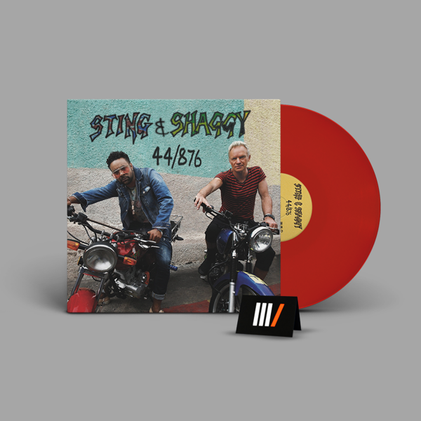 STING & SHAGGY 44/876 LP RED
