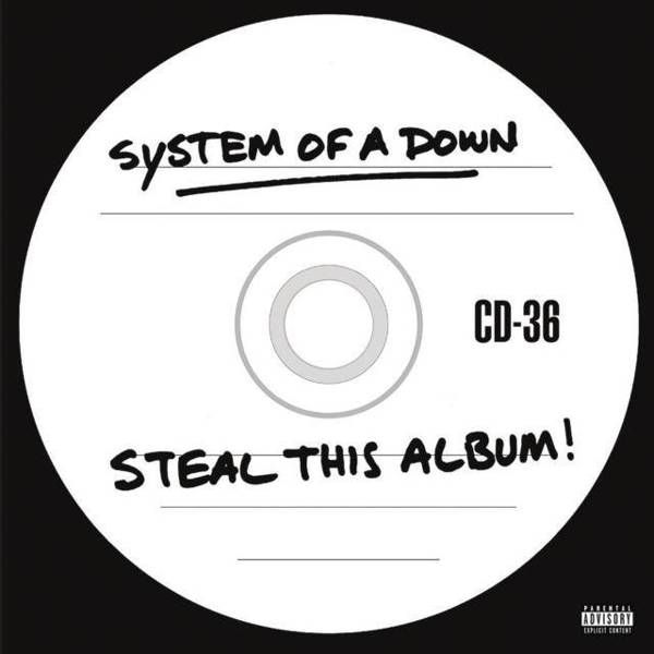 SYSTEM OF A DOWN Steal This Album 2LP