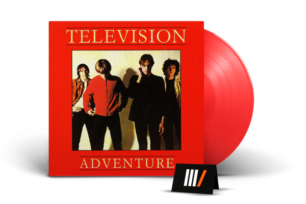 TELEVISION Adventure LP RED VINYL