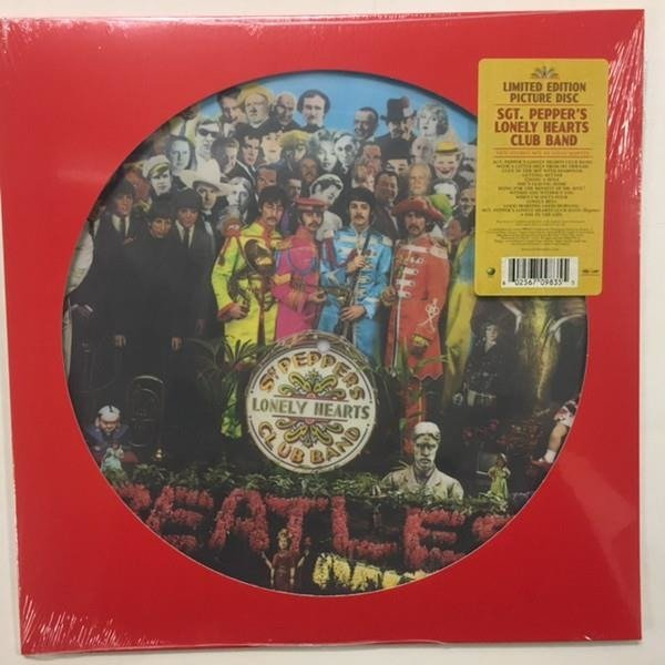 THE BEATLES Sgt. Pepper's Lonely Hearts Club Band (REMXED 2017 Picture Disc) LP