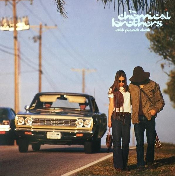THE CHEMICAL BROTHERS Exit Planet Dust 2LP