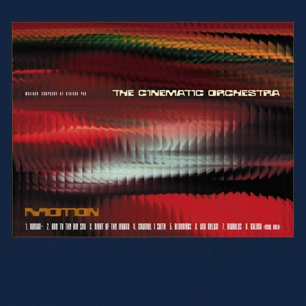 THE CINEMATIC ORCHESTRA Motion Limited Edition 2LP