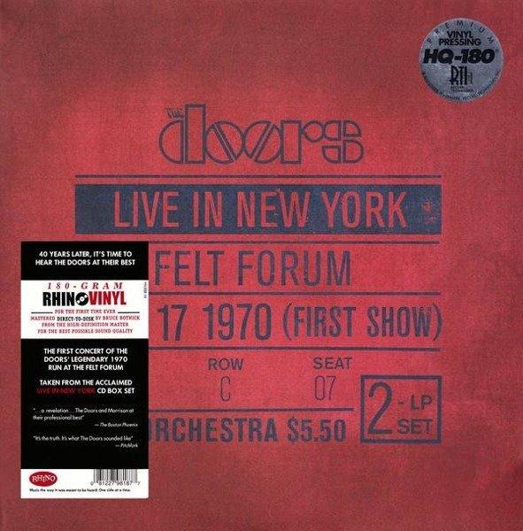 THE DOORS Live In New York 2LP