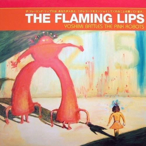 THE FLAMING LIPS Yoshimi Battles The Pink Robots LP