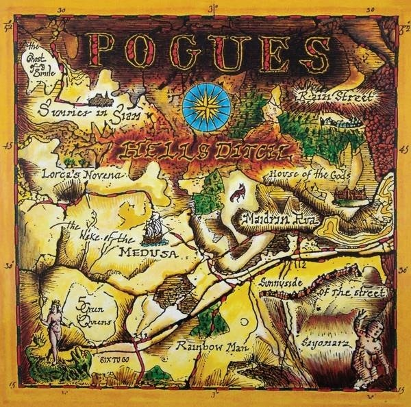THE POGUES Hell's Ditch LP