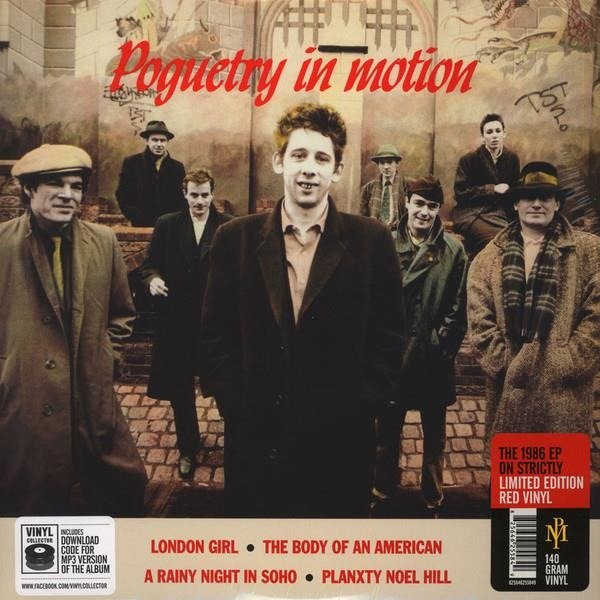 THE POGUES Poguetry In Motion LP