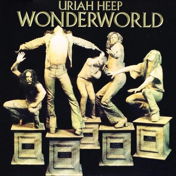 URIAH HEEP Wonderworld LP
