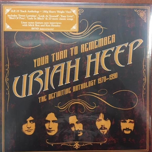 URIAH HEEP Your Turn To Remember: The Definitive Anthology 1970-1990 2LP