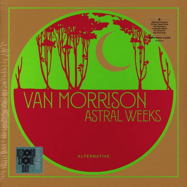 "VAN MORRISON Astral Weeks (BONUS Tracks) 10"" RSD"