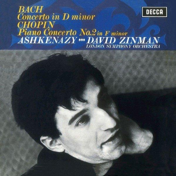 VLADIMIR ASHKENAZY Bach Concerto 1, Chopin Concerto 2 LP