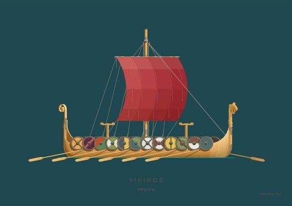 Vikings PLAKAT