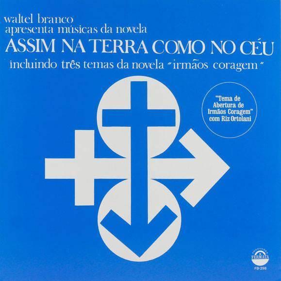 WALTEL BRANCO Assim Na Terra Como No Ceu LP