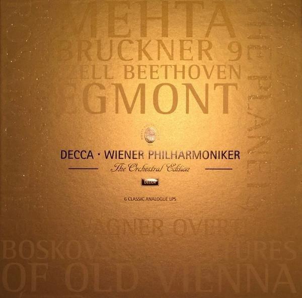 WIENER PHILHARMONIKER The Orchestral Edition 6LP